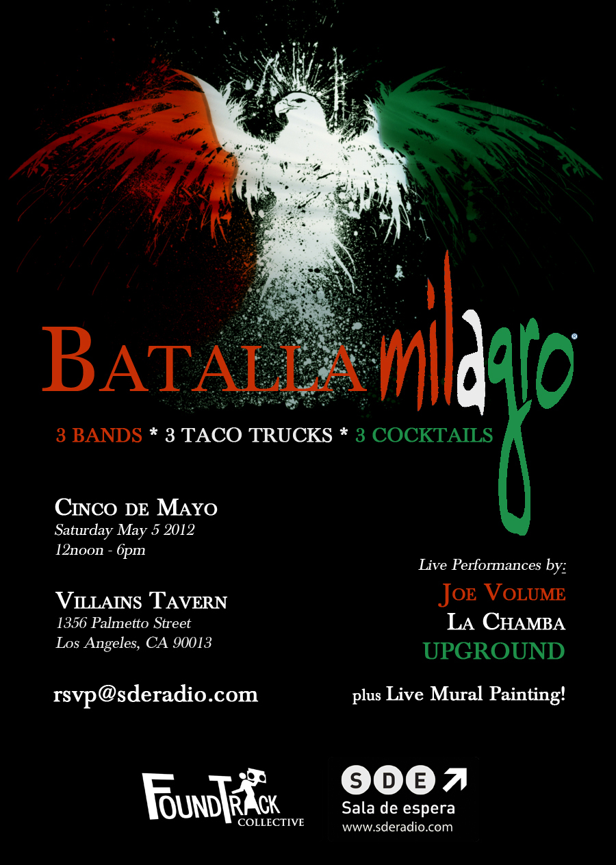 Batalla Milagro Cinco de Mayo Party